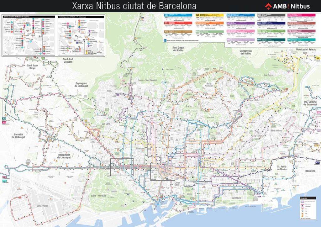 AMB Nitbus Map
