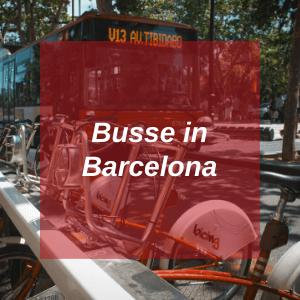 Busse in Barcelona