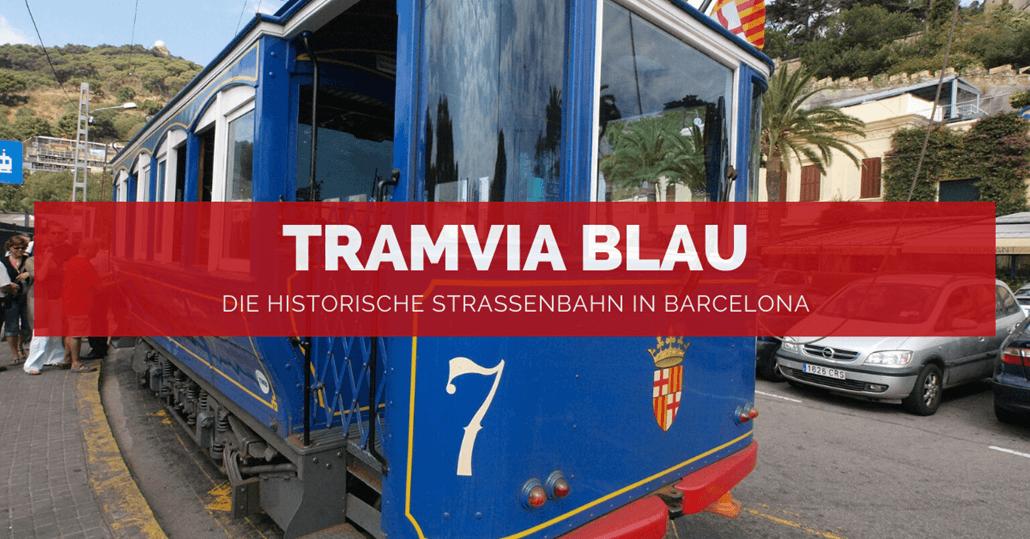 Tramvia Blau in Barcelona - FB