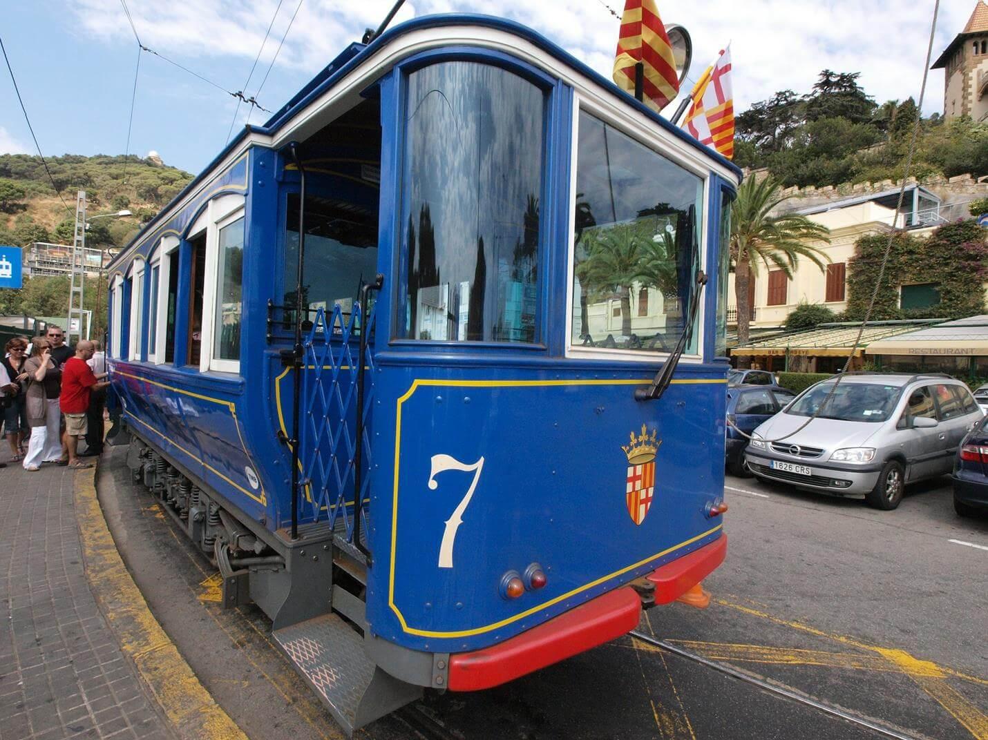 Tramvia Blau in Barcelona - Top
