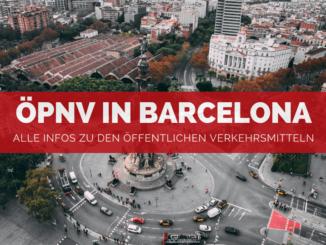 Öffentliche Verkehrsmittel in Barcelona - FB