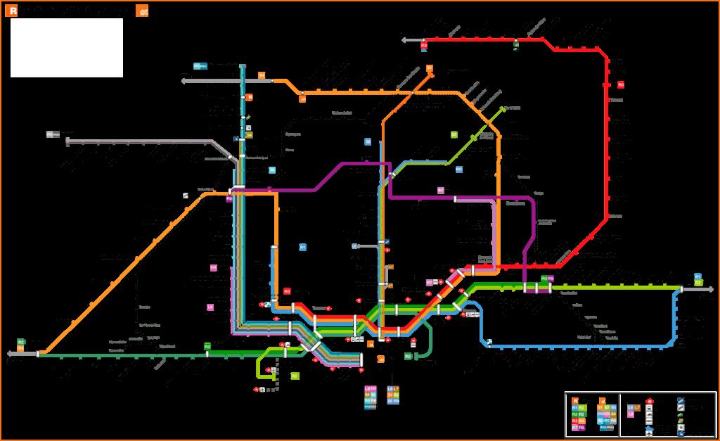 Rodalies Map