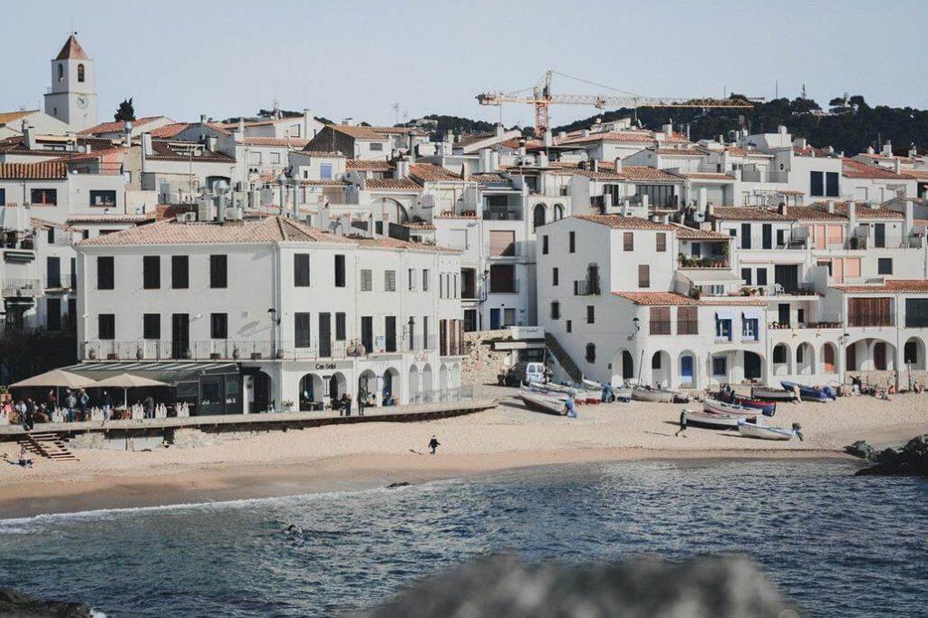 Calella - Strand