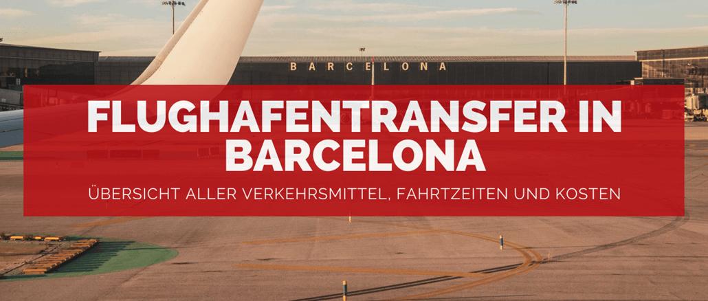 Flughafentransfer in Barcelona - FB