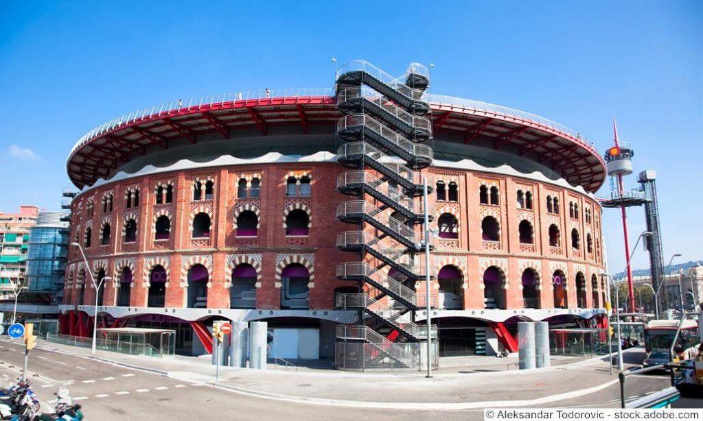 Las Arenas Stierkampfarena Barcelona