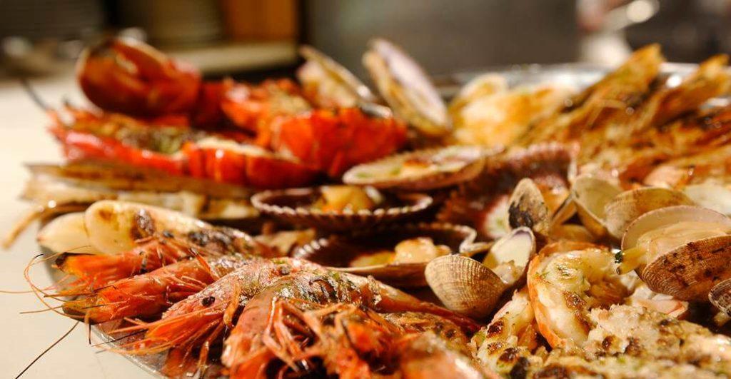 Meeresfrüchte-Restaurant-Barcelona