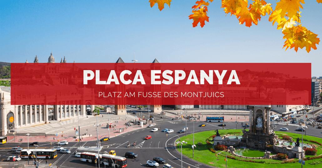 Placa Espanya Barcelona - FB