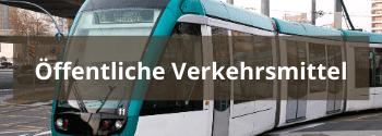 Öffentliche Verkehrsmittel - Hub