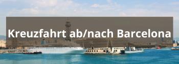 Kreuzfahrt Barcelona - Hub