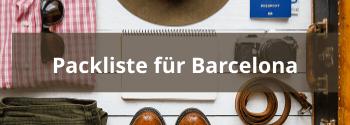 Packliste für Barcelona - Hub