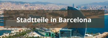 Stadtteile in Barcelona - Hub