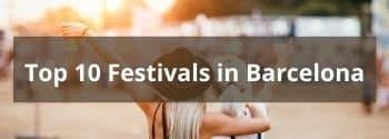 Top 10 Festivals Barcelona - Hub