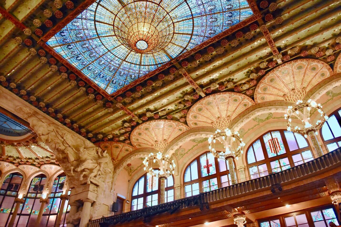 Palau de la Musica Catalana - Top