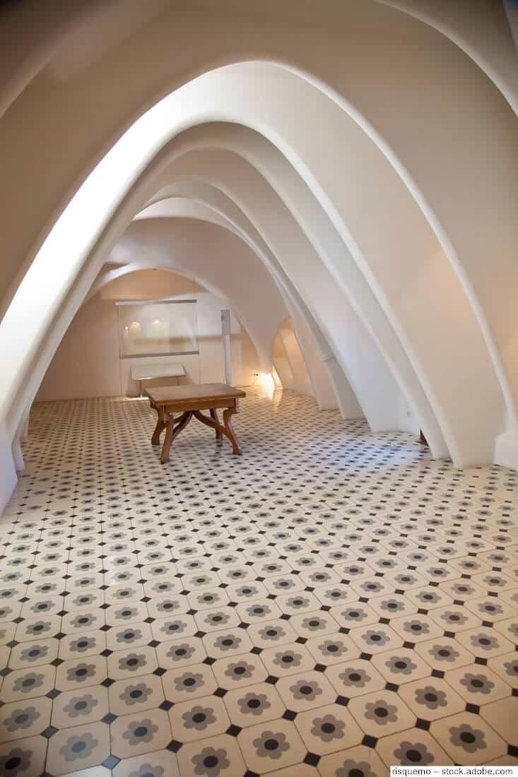 Casa Batllo Dachboden