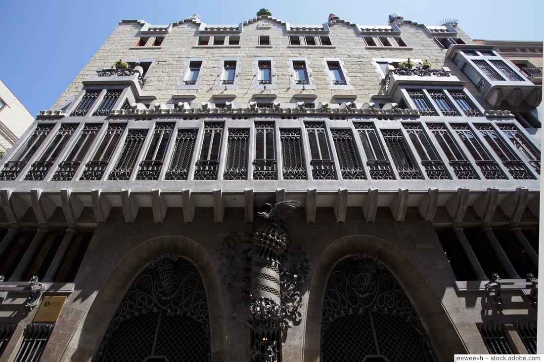 Palau Güell Fassade