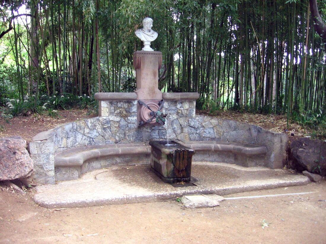 Hercules Gaudi Brunnen Pedralbes