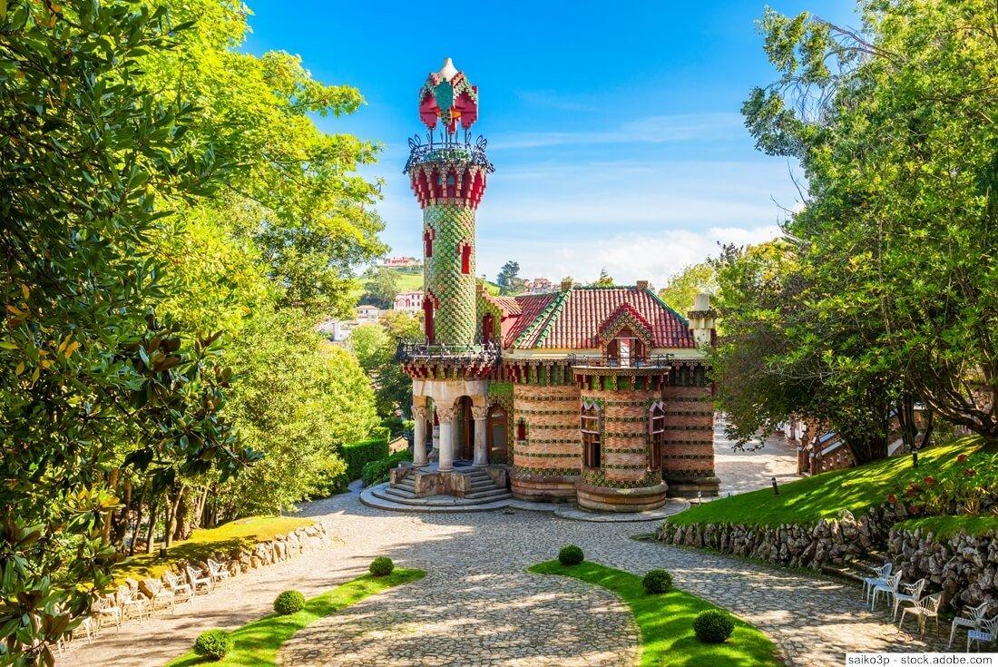 Villa Quijano Comillas Gaudi
