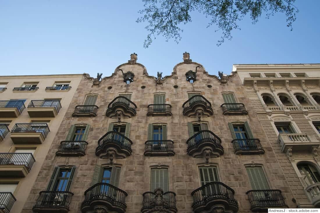 casa calvet barcelona antoni gaudi